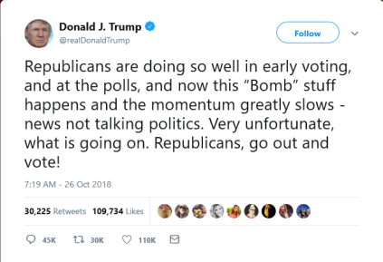 Screenshot_2018-11-17 Donald J Trump on Twitter Republicans are doing so well in early voting, and at the polls, and now th[...]
